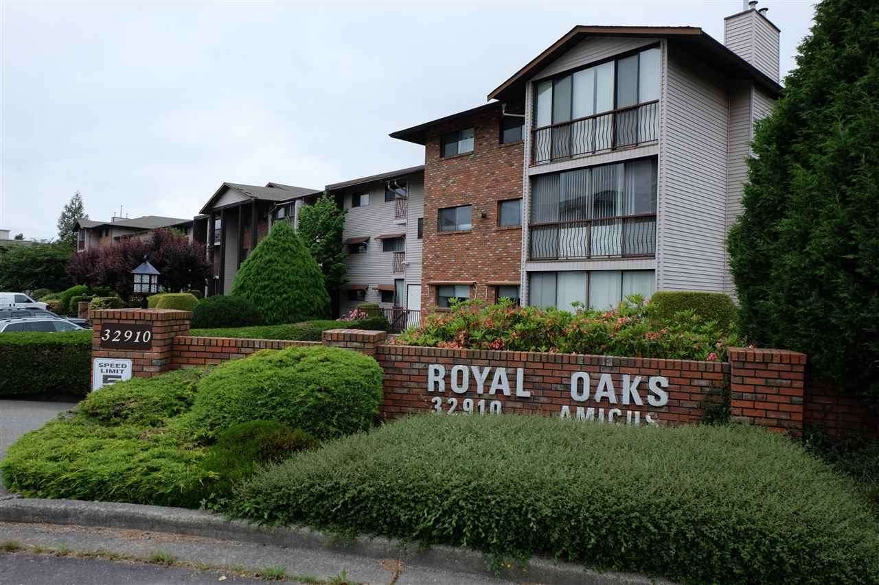 Very quiet and well-maintained 55+ building, convenient location. Walking distance to Super Store, Seven Oaks Mall, banks, restaurants, & all services. Transit nearby. Top floor, spacious & bright 2 bedroom suite with extra large covered deck that runs the whole length of the unit. Lots of recent updates, newer flooring and paint, in suite laundry. Extremely clean, ready to move in and just live. Secure underground parking, storage locker on the same floor. Workshop and amenity room on lower level. Well managed complex with a new roof recently replaced. No pets, no rentals. Mill Lake Park only a few blocks away.