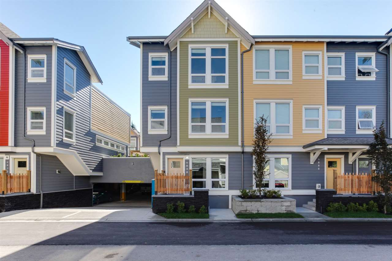 Welcome to Village Walk, located in walkable Ladner Village. This 3 bedroom and den corner unit townhome features a great split level design and is ready for you to move in this September. The spacious patio located off the kitchen is perfect for entertaining and is complete with a natural gas hook up for your BBQ. Prices exclude GST. Centrally located with easy access to Vancouver, Richmond, Ferries & YVR. This unit is a Plan C. Parking: 10 & 11