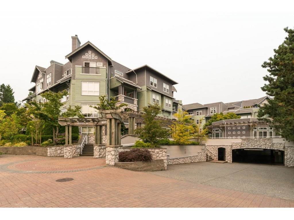Welcome to the Sandringham!! Spacious Penthouse suite with vaulted ceiling and two southeast facing decks with views of Mt. Baker and the ocean. Unique corner layout with large bedrooms at opposite ends of the unit each with their own ensuite. New flooring and paint, this home is move in ready and very well cared for! Complex has been completely rain screened and includes a separate clubhouse and guest suite. 2 small pets ok. Centrally located near shopping, transportation, and recreation.