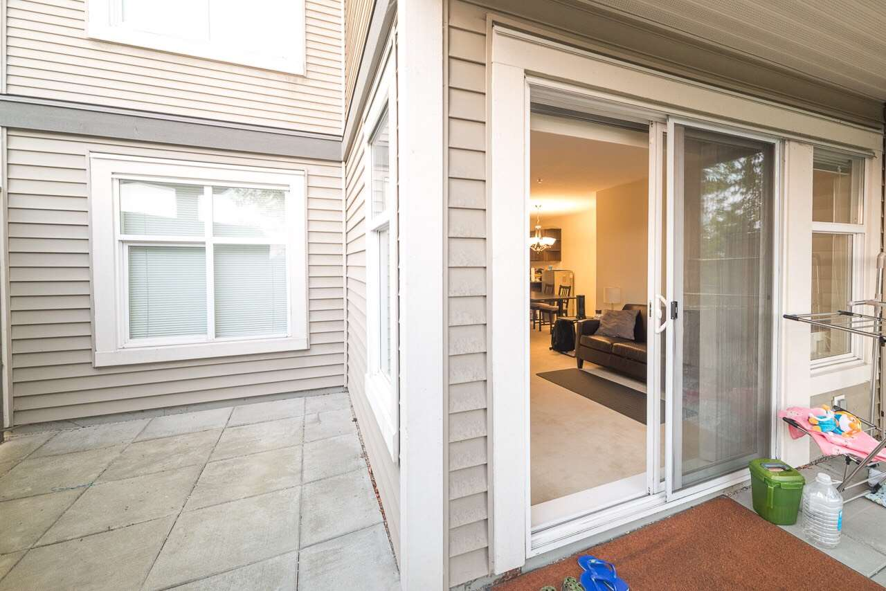 The Varley at Brentwood Gate, Build by Ledingham McAllister. Enjoy the view from the large south facing garden level patio. Steps from shopping, restaurants and Skytrain station. Central location between SFU, BCIT and Downtown. Granite countertops with stainless steel appliances. In Suite laundry. Spacious walk-in-closet. 1 secute parking spot & storage. Currently generating $1980 per month. Buyer Must Assume Existing Tenancy Agreement ending July 2018. 2 Dogs, 2 cats or 1 of each. NO PUBLIC OPEN HOUSE.
