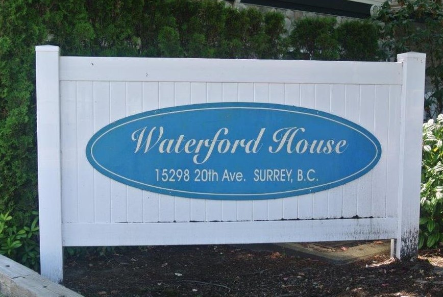 Waterford house. This bright 2 bedroom (1 bdrm + good size den, no closet) 2 bath, ground floor unit is in great condition and has a great layout including a large kitchen with pantry, separate dining room, gas fire place and large south facing balcony situated on a quiet street. This centrally located condo is big and bright has 9 foot ceilings and feels like a home. No rental restriction and 2 parking spots.