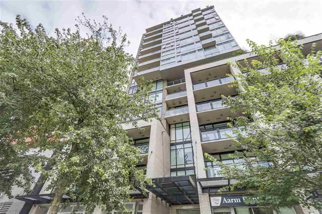 Bright and spacious northeast facing 1-bed + flex corner plan at PURE, a contemporary boutique building in the heart of downtown.  Located just steps away from the Seawall, Yaletown, Granville Street and the Canada Line.  Features include over height ceilings, expansive windows with roller blinds, granite countertops, stainless steel appliances and tile flooring throughout the main living areas. Comes with 1 parking.