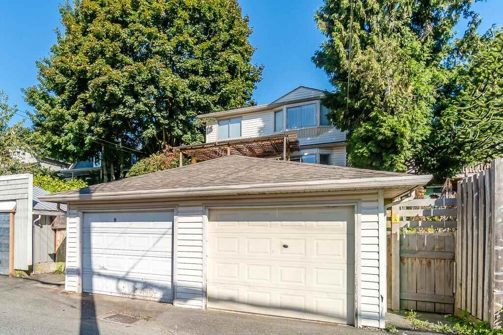 AMAZING LOCATION!! Located between Woodland & Commercial and just 2 blocks from E Broadway this well maintained back duplex is in a quiet residential neighborhood. Cozy 3 bdr + 3 bth + 1 storage rm and a large covered deck-perfect for entertaining and BBQs! Nice layout with living, dining & kitchen on the main floor & bdrs above! Skylights above give the home a lot of natural light! Surrounded by numerous parks like Clark Park & Trout Lake this home is a dog lovers dream! Queen Alexandra Elementary is a short 2 block walk and VanTech High School is a short 5 min drive or 20 min walk. Home is situated in an IDEAL LOCATION close to ALL amenities like Safeway, transit & quick route to DT OR Richmond!
