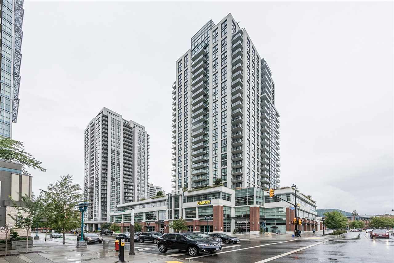 AMAZING SUBPENTHOUSE AT EVERGREEN BY BOSA. Built in 2015 this NW corner unit with 400 sqft outdoor patio allows for STUNNING SUNSET & MOUNTAIN VIEWS. Situated in premium location in walkable neighbourhood close to City Hall, Douglas College, Coquitlam Centre Mall, and steps to the Evergreen Line Lincoln Station. Luxurious features include Italian imported armory cabinetry, quartz stone counter tops, AEG & Kitchen Aid appliances, Hangsrohe fixtures, recessed stone niche shelf in all showers/baths, & wide plank flooring. Bonus 2 wide parking stalls along with storage locker. Complex comes with entertainment lounge & fully equipped gym with resident only landscaped terrace complete with firepit & BBQ. Open House Open House Sun, Oct 22nd 2pm - 4pm