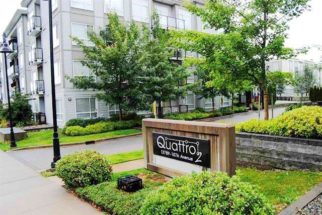 Cozy 1 BR condo in Quattro, comes with 1 parking and 1 storage. Convenient location, close to elementary school, SFU campus, Surrey Center Mall, Walmart, Safeway, TNT  Market, Canadian Tire, Library, recreation center, Best Buy, City Hall, walk to skytrain station and bus stop.
