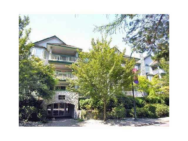 """Great 2 bedroom ,2 bath suite in Lynn valley's  """"Laurels"""" building. Generous room sizes with over 1200 sq ft in this corner unit. Spacious kitchen with centre island, bay windows and eating area and lots of cupboards. Living room features gas fireplace, adjacent dining room and a luxurious 130 sq ft deck for BBQ's & outdoor enjoyment. The spacious master is well separated from the second bedroom with soaker tub, separate stand up shower and lots of storage. Second bedroom has cheater ensuite. Radiant heat, 2 side by side parking, storage locker,insuite laundry, plus easy walking distance to Lynn Valley Centre & shops. Super central, close to schools, bus routes, recreation centre and more."""
