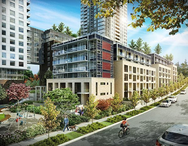 Wall Centre Central Park, new concrete, 2 level townhouse. GST paid. Efficient floor plan, featuring quality appliances, quartz countertops and fenced patio outdoor space with natural gas hook-up. Amenities include fitness room, as well as indoor full size pool & hot tub, and roof top garden. Close proximity to Central Park, Metrotown, and public transportation, skytrain about 6-8 min walk. Open house Saturday & Sunday 2-4pm