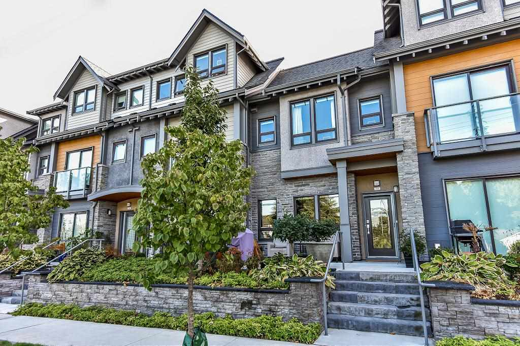 """Welcome to this luxury modern contemporary 1yr old townhome in the heart of Tsawwassen. Featuring 1900 sqft of well laid out floor plan with living on the main, 3 bedrooms up (2 with full ensuite) with closets and skylights. Beautiful decorating including built-in wall units, hardwood floors, designer wallpaper and paint, quartz counter tops, 4 state of the art bathrooms and 2 plus underground parking with direct access to your home. Two patios facing west at front and east at back. The original """"show suite'! A """"10"""""""