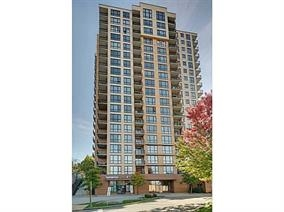 ENCORE. Immaculate condition and very spacious 1 bedroom + den with a spectacular North mountain & city views. Walk in closet & fireplace.  Just steps to skytrain station, Lougheed Mall. Drive minutes to SFU. Parking & locker included. No rental restrictions. Open House Oct 14 SAT 2-4