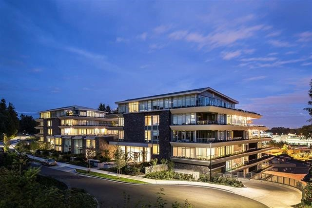 Luxury & spacious concrete 2 bdrm & den, East facing unit in Evelyn built by award-winning Onni in Park Royal, the heart of West Van! This modern & A/C home features 9'3 ceilings, open layout, 172 sf patio of the living room & den, automated lighting, blinds & sound system with built in speakers. Top of the line appliances, Subzero fridge, Miele gas cooktop & convection wall oven, Asko dishwasher, high-efficiency washer & dryer. 5 pc ensuite & 3 pc bath. 1 parking & 1 large locker included with same level access! Concierge, Gym, Lounge and more! Central location in West Van within walking distance to Park Royal Mall & close to transit, Lions Gate Bridge, HWY 1 & 99. Best price for 2+den in the dev. No GST & 2-5-10 new home warranty remaining. Best schools nearby!