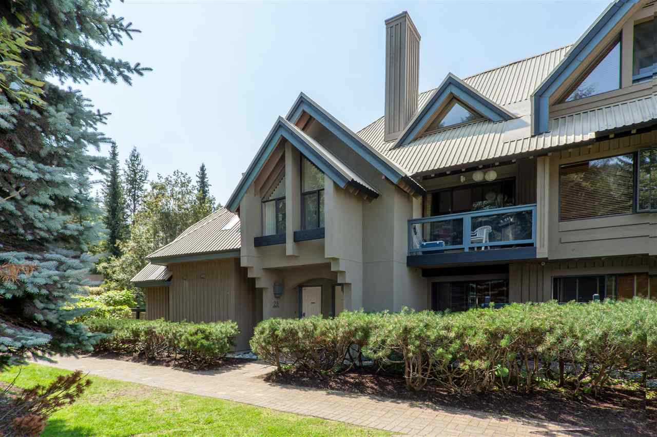Location. Location. Location. Or how about WOW! WOW! WOW! Either could be the three reasons to buy this property. Gorgeous updated 3 bedroom 2 bath on the Benchlands of Blackcomb where one can ski in directly from across the street on the Home Run trail. Or you can walk right outside and board the free shuttle available every 15 minutes to go have dinner in the village. Spacious landing to kick off your boots, hang up the skis, walk up to stunning large plank wood flooring throughout living and dining room. New heated flooring in the kitchen and bathrooms. A very large living room flows from the dining room kitchen area, so everyone can have fun and discuss the days adventures. This is the perfect family getaway for all seasons. Ample storage on site for all your gear and toys.