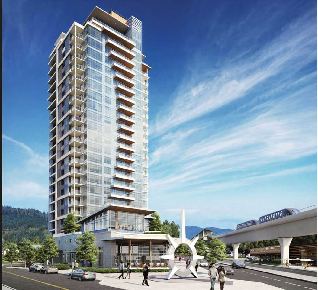The Burquitlam Capital (Assignment of Contract), a master planned 23 storey Concrete building in Coquitlam, just steps from Safeway, SFU and the Burquitlam Skytrain Station on the Evergreen Line. This most desirable 1 bedroom and Den has very functional layout, North facing with beautiful mountain view. The unit is equipped with stainless steel appliances including an induction cooktop, upgraded laminate flooring throughout. 1 parking and 1 storage! Den has wardrobe and could be used as the 2nd bedroom. Completion estimated to be early 2019.