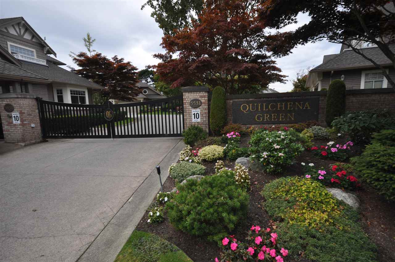 'Quilchena Green' in popular Terra Nova. Private garden/patio backs on to quiet green space. Two ensuite bathrooms. New roof in 2013 and exterior paint in 2015. Short walk to Middle Arm Dyke Trail, parks and Terra Nova shops. Premier location in complex. Adult oriented.