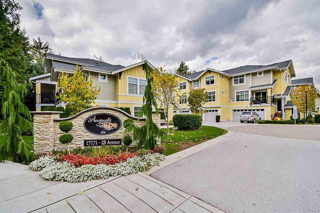 Augusta is situated in the thriving community of South Surrey, within walking distance to golf courses, Peace Arch Provincial Park, excellent schools, local farmer's market and Blaine Centre. Easy access to the HWY 99 and 176th Street. 10 minute drive to the famous White Rock beach and pier. These townhouses have many great qualities from, the custom Crown mouldings, sprayed ceilings, granite countertops, designer cabinets with gorgeous millwork, Hardy Plank exteriors, oversized islands - Built for entertaining your friends and family. Landscaped grounds and much more.