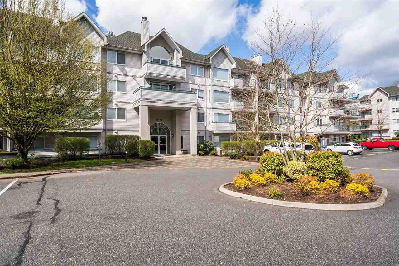 College Park! Great Location, well maintained building. This 2 bedroom 2 bathroom ground level Unit, in a quiet building, facing east and with open layout, Ready to move in. Close to UFV, Abbotsford Entertainment Center and easy freeway access. New paint, dishwasher and hood fan. Strata fee includes hot water and Gas fireplace.  Back on to the market.