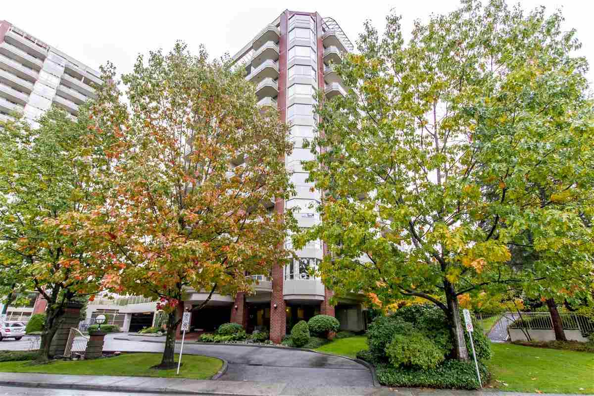 SUPER CONVENIENCE LOCATION BUT QUIET, 5 MIN WALK TO SKYTRAIN.  elegant & spacious 2 bedroom & den (THE DEN IS GOOD SIZE AND HAVE WINDOW, CAN BE THE THIRD BEDROOM) with Burnaby Mountain view. Unit is facing the quiet side. Three balconies extend the living space outside to further enjoy the setting. Master has very large, covered balcony. Den & kitchen also with balconies. Open layout, loads of windows, feels very much like home! Building well maintained, has been re-piped & very recent elevators, painted and approval for lobby remodeling. Outdoor pool and facilities. Fantastic West Coquitlam location. Burquitlam skytrain station is an easy walk, Safeway & all conveniences. Close to Lougheed Mall, library & all amenities. One dog allowed, or 2 cats.OPEN HOUSE SUN NOV 12 2-4 PM!