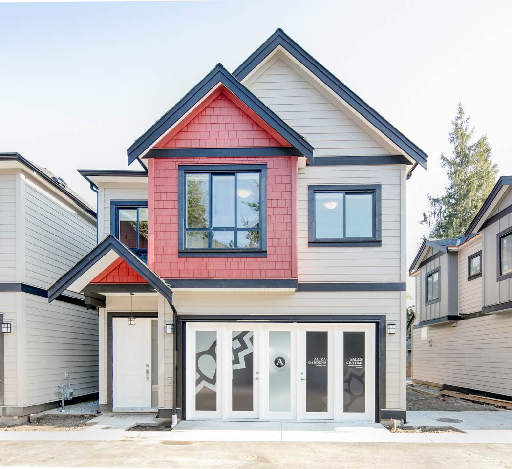 ALIZA GARDENS NOW SELLING! Sales Centre opens daily from 12:00 to 5:00 pm (Closed on Fridays). A rare collection of 14 Heritage Style 2 level Detached strata homes and Duplexes. Unit sizes ranges from 1400 sq feet to 1600 sq feet. 3 & 4 bedrooms plans. All Units with 10 Feet Ceilings on Main Floor, side-by-side 2- cars garage. Radiant In floor Heat and Air conditioning. Wood Flooring throughout and Generous size backyards. Bosch Appliance Package. Exceptional Quality and finishes. West Richmond Prominent location with Burnett Secondary School, Thompson Community Center, Blundell Shopping Mall and Terra  Nova Shopping Mall close by. Across from Railway Green Way trail. Near all the amenities, this is a perfect place to call home. 2-5-20 New Home Warranty.