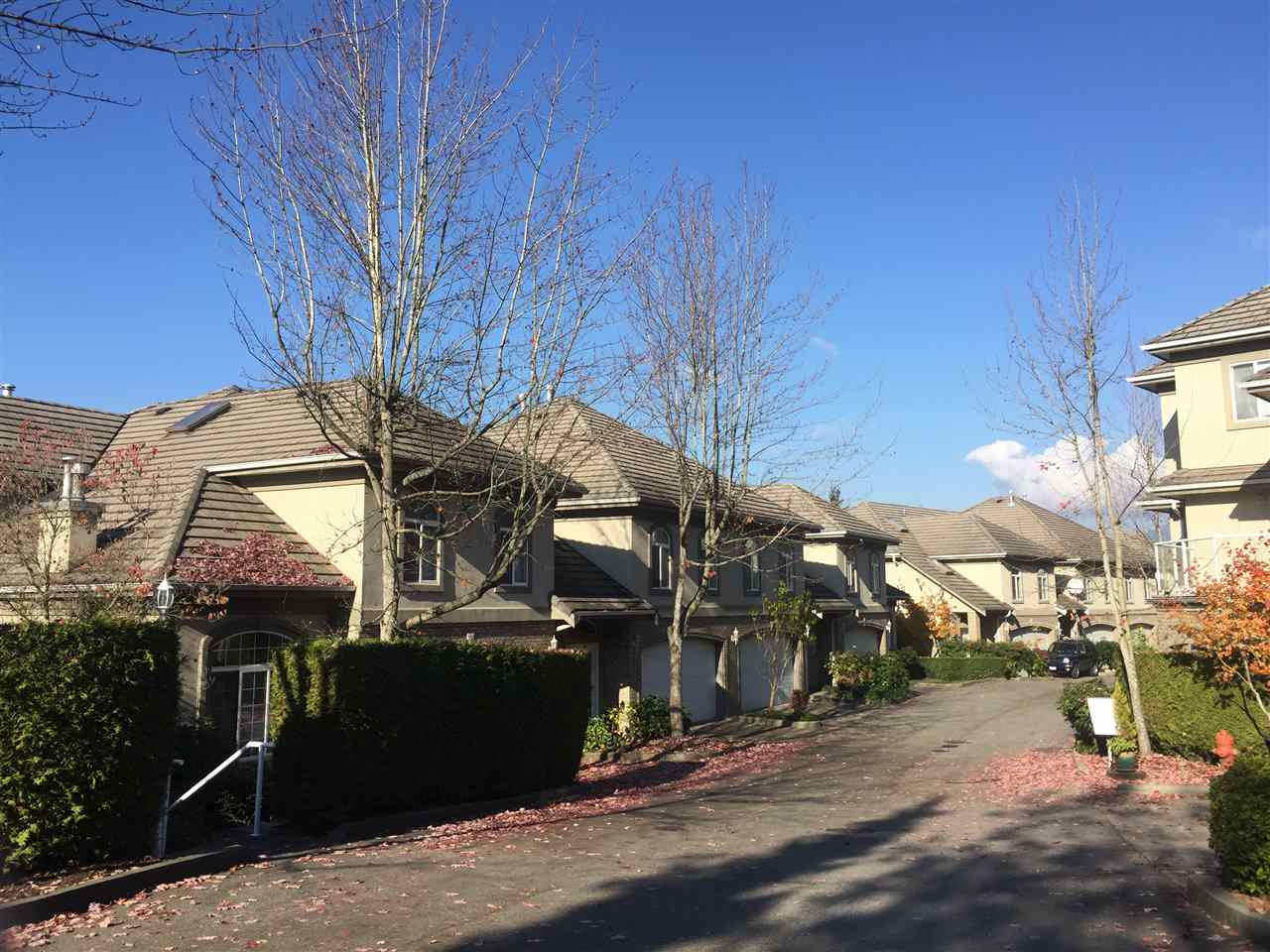 """Britanny Place in Citadel- is an executive gated 15 unit complex , tucked away and very private. Ceramic tiled entry, 9 ft ceilings. Formal living has tall elegant windows, hardwood flooring. Bright kitchen with lots of white cabinets and caving area with access to a great deck with view. Upstairs has huge decadent master with oversized walk-in closet, double sided gas fireplace, sitting area, soaker tub and separate shower/toile, marble floors. Other bedroom has an ensuite. DOWN-media room and bedroom plus bathroom, View from all 3 levels. Over 3,000 sq IL Treat yourself to the best!"