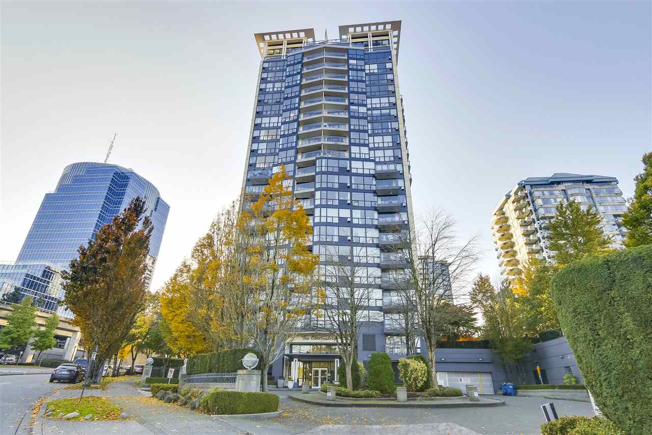 "Quick Possession Possible. No Parking. No Rental Allowed except for original owners. Ideal Home for First Time Home Buyers. This beautiful 1 bedroom unit is in ""The Observatory"", one of the best high rise buildings near Gateway Sky Train station. This unit has NORTH-WEST facing with mountain and river view. Amenities includes clubhouse, exercise room, sauna & hot tub. Convenient location, only steps away from Gateway Sky Train station, Chuck Bailey Recreation Centre and Whalley Athletic Park. Shopping Center to be completed right beside Gateway Sky Train Station. Bring your offer today. This deal will not last long."