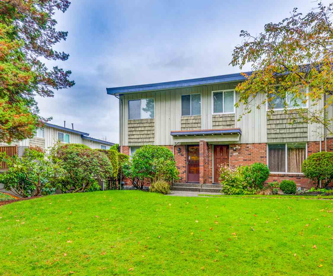 Beautifully Renovated 3 bedroom, 4 bathroom 1653sqft Corner Unit Townhouse on a quiet street in North Burnaby! Centrally located, just 15 minute walk to the skytrain, and close to parks, schools, Lougheed Town Centre & easy access to HWY 1. Spacious main floor features large living/dining room, updated powder room, large kitchen with quartz counters & brand new stainless steel appliances and a huge patio off the kitchen! Beautiful wide plank Oak laminate floors throughout the unit! 3 good sized bedrooms upstairs including a spacious master suite with walk-in closet & 2 piece ensuite. Downstairs features a large rec room, 3 piece bathroom, & mud room with access to the carport. 2 covered parking stalls. Well maintained complex.