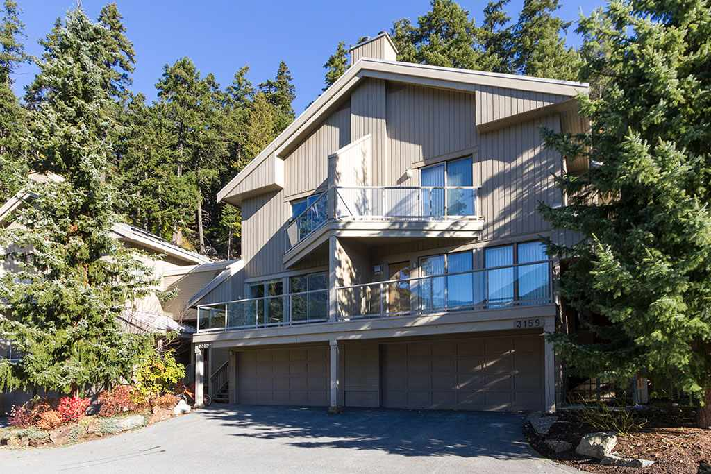 Located in the prestigious Blueberry Heights this bright & sunny updated 4 bedroom 3 bathroom town home offers an open floor plan, wood burning fireplace, 3 decks. Featuring a double car garage and mud room with ample storage for all your Whistler toys. Amazing south west facing views over Alta Lake. Set in a private treed location this property is only minutes away from Alta Lake, Whistler Golf course and the Village.