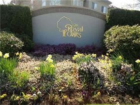 The Royal Oaks in central, sunny Tsawwassen - 1 block to town center shops, restaurants, clinics & bus stop. This original owner, 1 bedroom, 1 bathroom unit enjoys bright western exposure and covered private deck. large master bedroom with walk-in closet and deluxe 5 piece ensuite. Royal Oaks is very much in demand because of location, impeccable maintenance, and friendly neighbours. A perfect home for a single person - a safe comfortable environment with an enclosed lovely fireplace. There is a social room with all the amenities and a lovely guest suite. Storage locker #41 and parking stall #52.