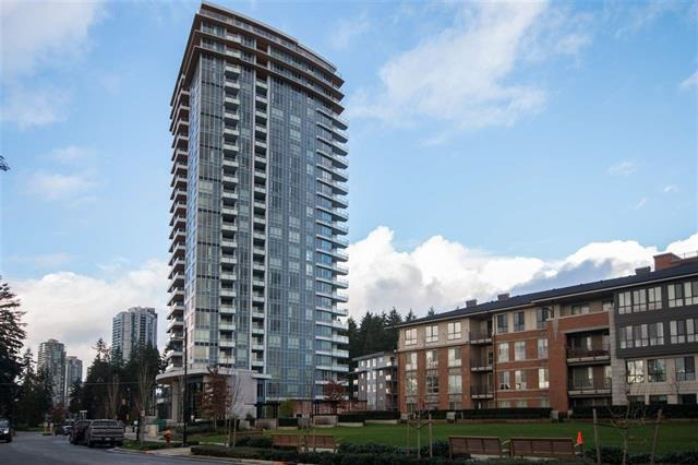 "Owner occupied. Like new condition. Polygon Windsor, built 2016. ""09"" unit facing north without construction noise. Great view of Burke Mtn and Westwood Plateau. Spacious 947sf, 2 bedroom, 2 bath. Resort like CLUBHOUSE has swimming pool, indoor basketball court, gym & games room. Walking distance to skytrain station, Coquitlam Centre, library and town center. Parking 365, Locker 406."