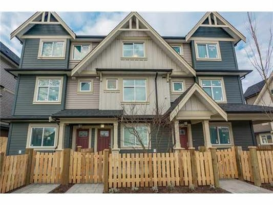 Very Attractive Complex conveniently located in a laid-back family neighbourhood, and yet still in the heart of Richmond's modern conveniences, schools and parks.  Large kitchen with quartz counter tops and solid maple cabinets, and open-concept 3 level layouts with two-car garage will allow you to live life to the fullest right at home.  South facing home with 3 bedrooms and wonderful floor plan, super bright with many windows.  School catchments:  Steveston London, Richmond Christian School & Errington Elementary.  Low maintenance fee & convenient public transportation.  Don't miss it and call right away for showing!  Open House on Sunday (November 5) 2-4 pm.