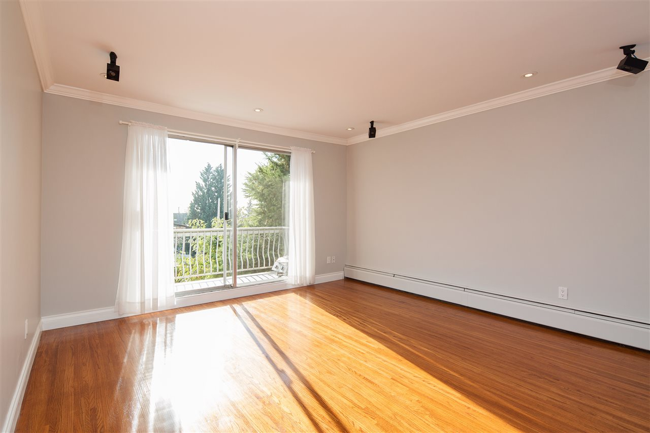 This 2 bedroom South West Corner suite is located in the heart of Central Lonsdale. It has been recently renovated to perfection with New kitchen including granite counter tops and appliances, updated bathroom with beautiful fixtures, refinished hardwood floors,  new lights, crown moldings & a fresh coat of paint. It shows beautifully! The suite is bright and comfortable, parking can be rented for $15/month, the building is self managed and very well maintained. The property is very large & offers future potential. This is a great investment ! Rentals Allowed, 19+ building & No Pets Allowed