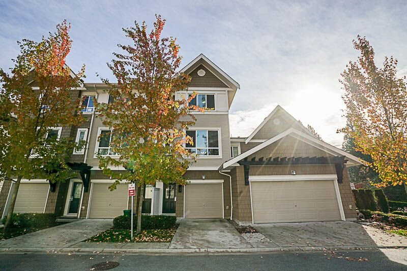 Welcome to Tyneridge, the first Executive Style townhomes developed by Polygon at the sought after Foothills of Burke Mountain. This stunning 3 bed 2 bath home features an open concept living space, UNOBSTRUCTED SOUTHERN VIEWS of MT BAKER and the valley, GRANITE counters. STAINLESS appliances, LARGE kitchen with separate eating area, ample natural light, FULLY FENCED yard with 2 PRIVATE PATIO areas and a tandem garage with BONUS parking for an extra vehicle out front Steps from endless trails and parks, the new Burke Village Promenade, RILEY PARK and the NEW Smiling Creek Elementary, to be completed 2018. Transit is just steps away, and a few short mins from EVERGREEN LINE. Hurry, this one won't last!