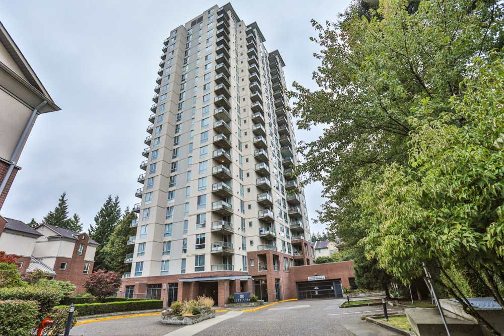 "WELCOME to the ""City Club in the Park"".  This bright and spacious 2 bedroom (2nd Bedroom has no closet) and 1 bath corner unit facing SE with beautiful views of Water, City and greenery offers a great open floor plan with cozy gas fireplace, generous size Master bedroom, in-suite laundry, brand new Dishwasher and Garburator and newer Fridge.  1 parking stall, 1 storage locker, exercise room, bike room, workshop and so much more.  Very central location with only a 5 minute walk away from Highgate Village for all your shopping needs and steps to Edmonds Skytrain with an easy commute to DT & Metrotown.  Beautiful park like surroundings and in the Taylor Park Elementary School Catchment. OPEN HOUSE SAT NOV 11th 12-2PM"