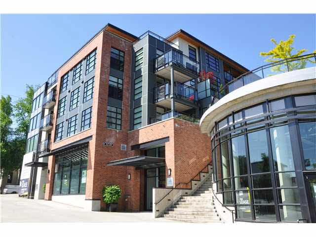 Great one bedroom with LARGE (9' x 13') PATIO in THE STATION on the quiet side of the building! Open concept and contemporary finishings including quartz counters, S/S appliances, laminate flooring plus bonus GEOTHERMAL Heating and Cooling! (YES...air conditioning in the summer) This is Port Moody's best located condo complex ideally within walking distance to Moody Center skytrain station, Rocky Point Park, West Coast Express, and all the Breweries! The building is well maintained, low maintenance, has the balance of the home warranty and features a nicely appointed gym!! Investor and Pet Friendly!!