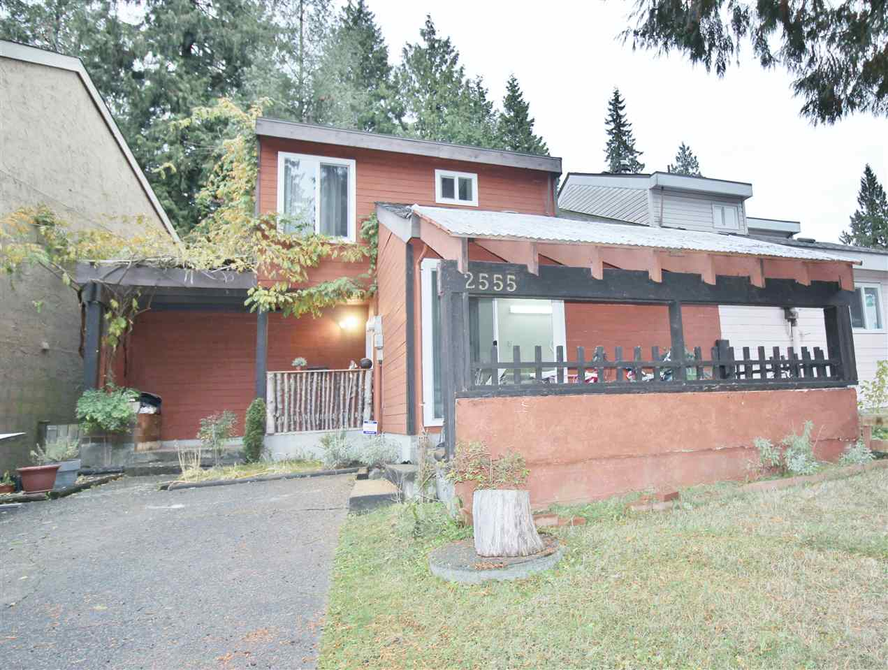Rare Opportunity to Own this Half Duplex Family home in Central Coquitlam on a quiet street. Bright Living room, powder room, separate Family room & Laundry on the main floor. Kitchen with Dining area leads to covered wooden deck. 3 Bedrooms and Full bath upstairs. Updates include NEWER carpet, stove, Washer, covered decks. Close to everything, shopping, schools (RC MacDonald Elementary), transit and Mundy Park. Call to view anytime.