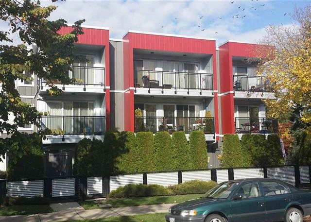 Not only does this apartment have a great location next to Sahalli Park at Fraser, it also has great street appeal. Sunny and bright with southern exposure, this street front unit features in suite laundry. The building was re-designed with full rain screening, exterior metal cladding, balconies and windows in 2009. The roof was done in 2006. OPEN HOUSE: SAT. NOV 11 & SUN. NOV 12 2-4PM.