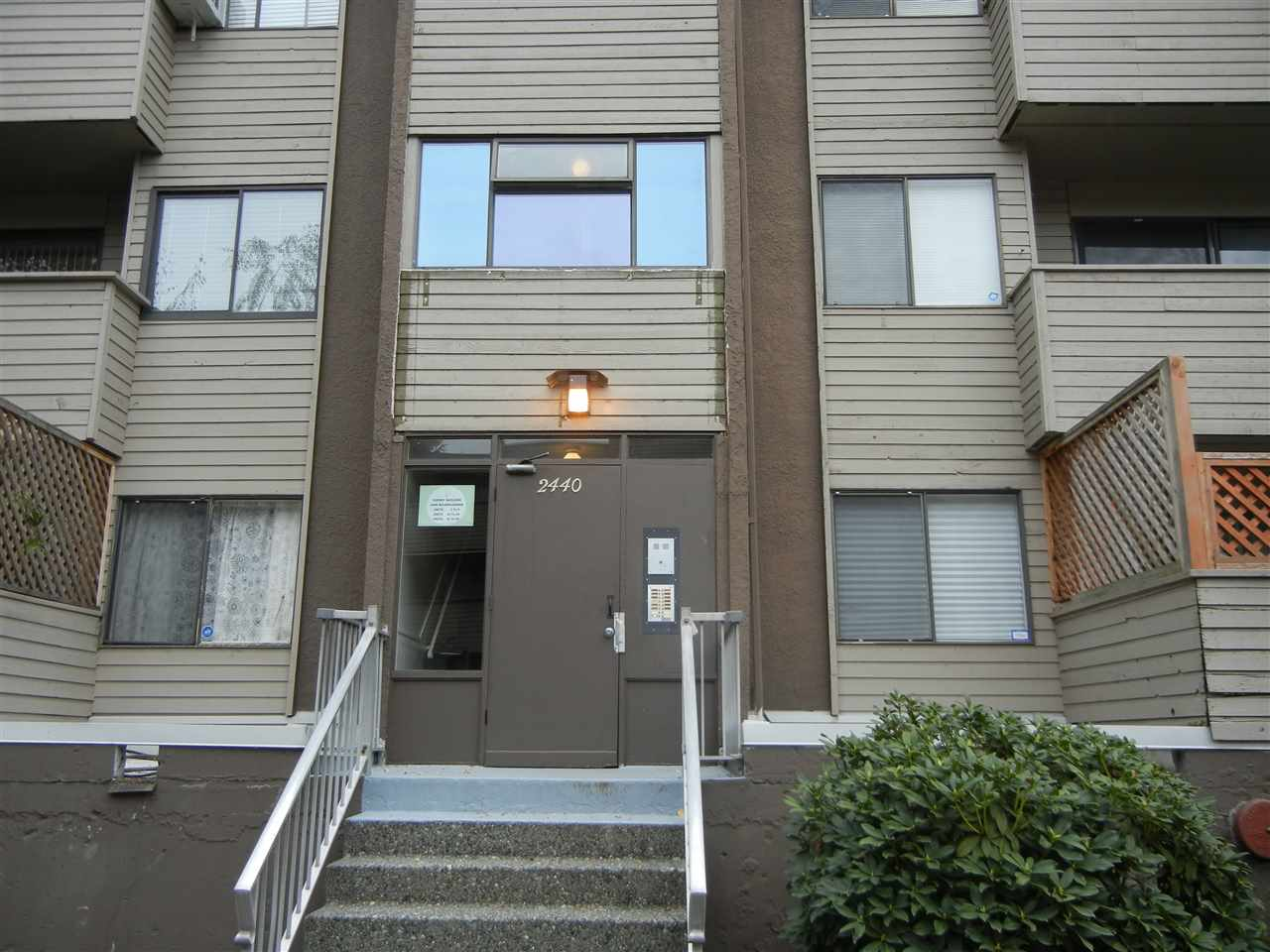 This is a 3 big size bedrooms unit, has been completely updated in 2013. New tile floor in kitchen & bathroom. New kitchen cabinets & countertops & appliances, new laminate floors throughout. Air conditioning. Excellent location. A short walk to downtown of Port Coquitlam. Coquitlam River & Gates Park. 5 minutes drive away from Skytrain Station and the West Coast Express. Easy access to HIGHWAY 1 & Lougheed Highway. The maintenance fee includes indoor swimming pool, hot tub, sauna, recreation room, clubhouse and hot water. A must see! Accepted Offer, S/R date NOV 24.