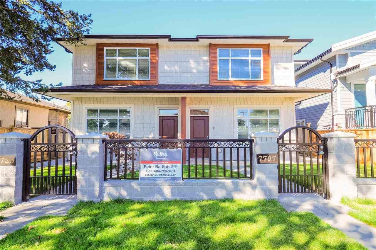 Desire Metrotown location; situated on a quiet residential neighborhood; minutes to sky train station, Burnaby South School, and Metotown shopping. New half duplex, 2 levels, 3 bedroom,3 bathroom, air condition ,I1RV, floor hot water radiant heat and fireplace.