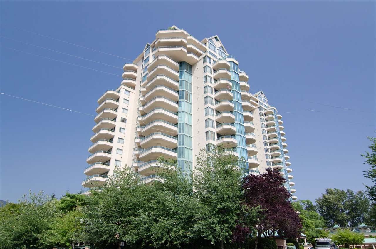 Gorgeous views of Lions Gate Bridge city and Mountains from this beautifully kept West Royal corner unit. This home features a large balcony overlooking the stunning views, 2 bedrooms and 2 bathrooms, plus a large solarium with a spacious floorplan and tons of natural light. The master bedroom includes a walk in closet, 5 piece en suite, and a 2nd balcony shared with the 2nd bedroom overlooking the mountain and city views. West Royal includes great amenities, including an indoor pool, recreation centre, and hot tub. Located in Park Royal, only minutes from shopping, ski resorts, and Capilano Golf and Country Club. Open House Sunday February 25 2:00pm - 4:00pm.