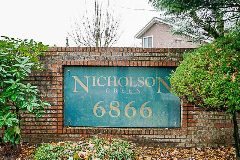 Welcome to Nicholson Green. This large 2 bedroom 2 bath corner end unit has been tastefully updated and is MOVE IN READY! Features include spacious open concept living, large living room and dining room, both perfect for family  get-togethers, updated flooring, paint, kitchen and one of the bathrooms. Enjoy one of two decks just off the master bedroom and never worry when family or friends want to spend the night, there is plenty of room in the second  bedroom, or you can use it as your home office. Walking distance to all amenities, shopping, transit and commuter routes.