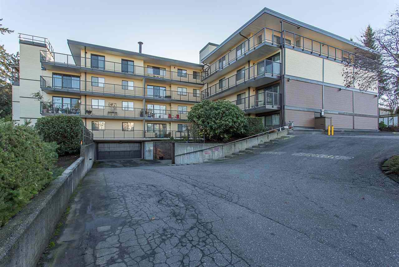 BRISTOL COURT! Very private ground floor unit on the quiet south side of the building. This unit has just undergone a FULL 35k renovation and is completely move in ready. New kitchen, new bathroom, new floors, new paint, new trim, new baseboard heaters, new light switches, ITS ALL NEW! In the last few years the building has undergone an extensive update including new roof, completely new rainscreen and siding, new decks with new vinyl and railings, new boiler, new patio doors and an updated lobby and amenities room. Centrally located within walking distance to most amenities and a short 4 min drive to HWY 1. This is your chance to own at an affordable price, call today! OPEN HOUSES SAT & SUN DEC 9th and 10th from 1-3!