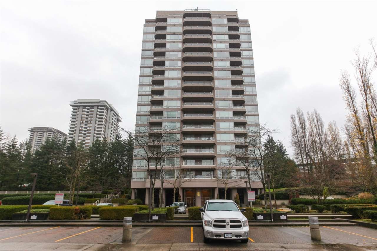 The best-location, sought after property, close to Lougheed Mall with 2 bedrooms and 2 bathrooms. Spectacular views from both bedrooms and living room. Newer laminate flooring throughout. Newer appliances including a stove, fridge, exhaust hood, washer, dryer and dishwasher. Amenities include gym, sauna, party room, outdoor pool, hot tub and tennis courts. Surveillance camera provided in the building. Minutes to skytrain, bus station, SFU, shopping, parks, schools and library. One parking stall and one locker. Rentals allowed. Pet friendly. Open House  Sunday December  10th from 2-4 pm.