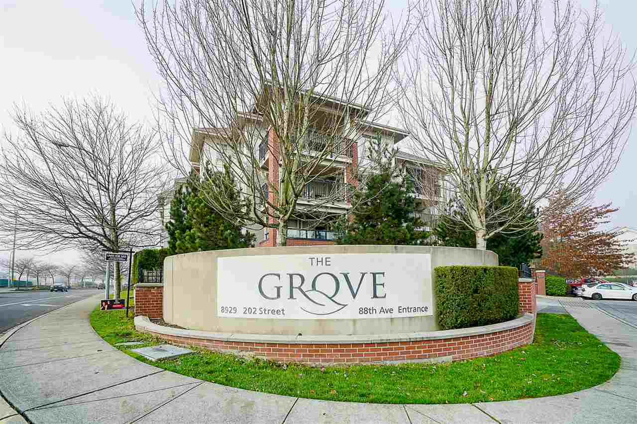 Welcome to The Grove! This open concept corner unit provides 3 spacious bedrooms and 2 bathrooms including an ensuite for a total of 1070 SQFT. The kitchen is fitted with granite countertops and stainless steel appliances. The balcony also provides ample space for enjoyment. Centrally located, this complex is gated for maximum privacy and includes underground parking and ample amounts of visitor parking. Not to mention, countless amenities are steps away and access to the Highway and transportation is at proximate distance.