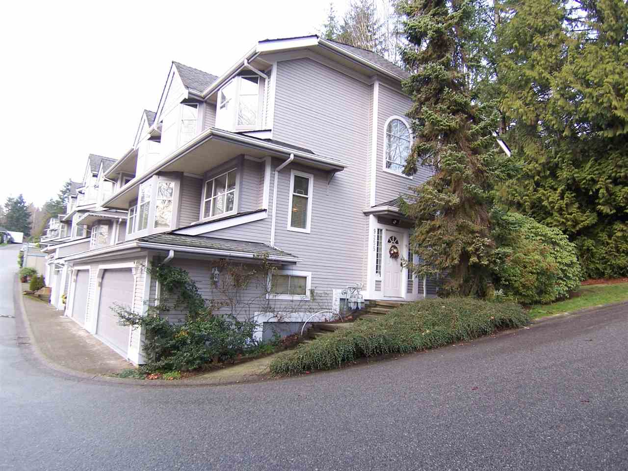 Beautifully updated 4 bedroom, 3 bathroom, corner unit town home. Features include granite counter-tops in kitchen and bathrooms, crown moulding throughout, hardwood flooring, and much more. Private, treed setting out back. Close to bus or 5 minute drive to Lougheed Towne Center.