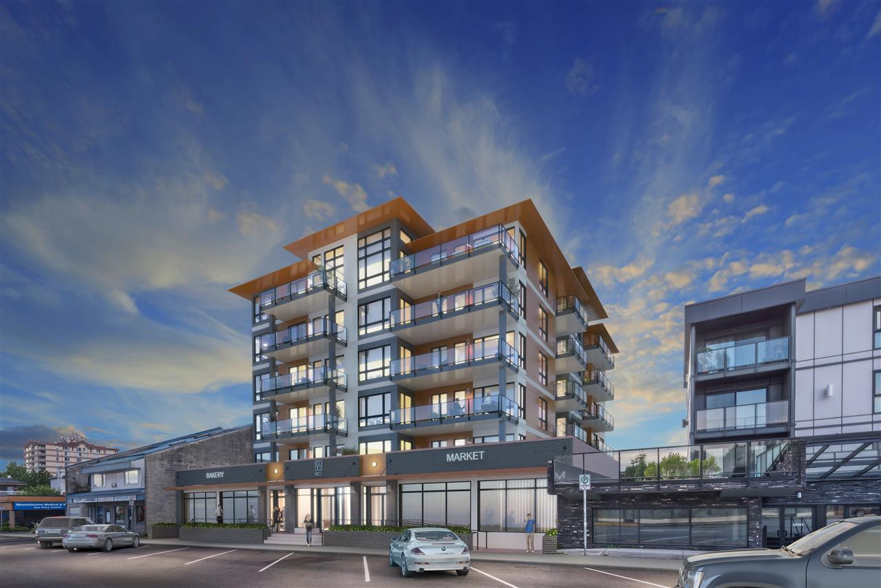 PRESALE ? 2 bedrooms, 2 bath condo featuring 9ft ceilings, air conditioning/heat pump, 2 color palettes, stainless steel appliances, quartz countertops and insuite laundry. Central location, walking distance to shopping, transit (including the West Coast Express) and leisure centre. Call today for an appointment!