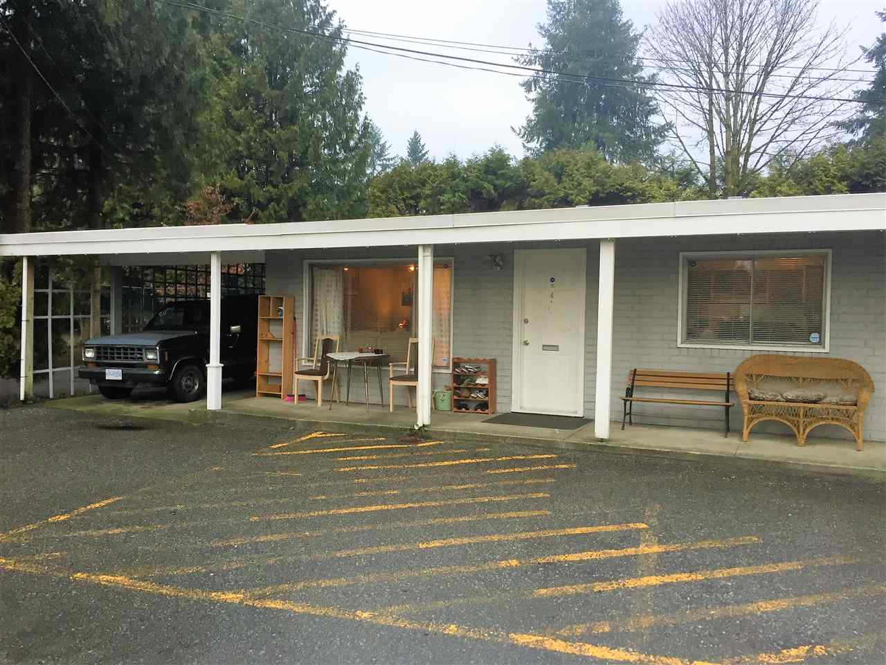 Talk about housing value! ONE LEVEL RANCHER living in Central Maple Ridge. TWO BEDROOMS and a den, END unit located away from Dewdney Trunk at the north end of Richmond Court. CARPORT parking, economical Strata Fee of $202.37 a month. No age restriction, Kindergarten to Grade 12 school within walking distance, Transit stops at the driveway. Two dogs or cats allowed but RENTALS ARE MAXED OUT. Appointments easily arranged by your Realtor.