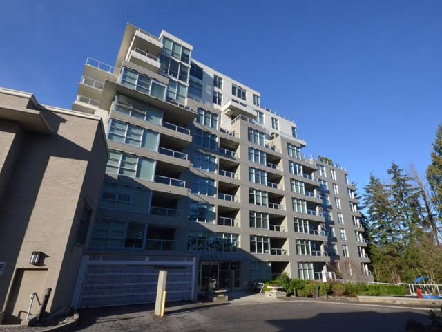 Great investment at SFU. 710 sq' with 2 bdrms, 1 full bath. Quiet NW facing unit. Bright & functional layout. Updated with brand new laminate wood flooring, new paint & new hood fan. Stainless steel appliances. Insuite laundry. Good size balcony. One underground parking. Walking distance to campus, grocery store & transportation. Minutes to Lougheed Mall & Skytrain Station.
