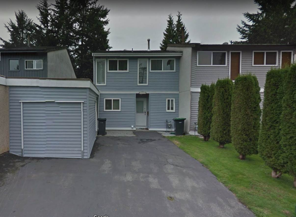 Row House with no strata fees.  2 stories with 3 bedrooms and 1 bathroom on the uppper floor, kitchen and living room on the main floor.  Close to sky train and quiet neighborhood.