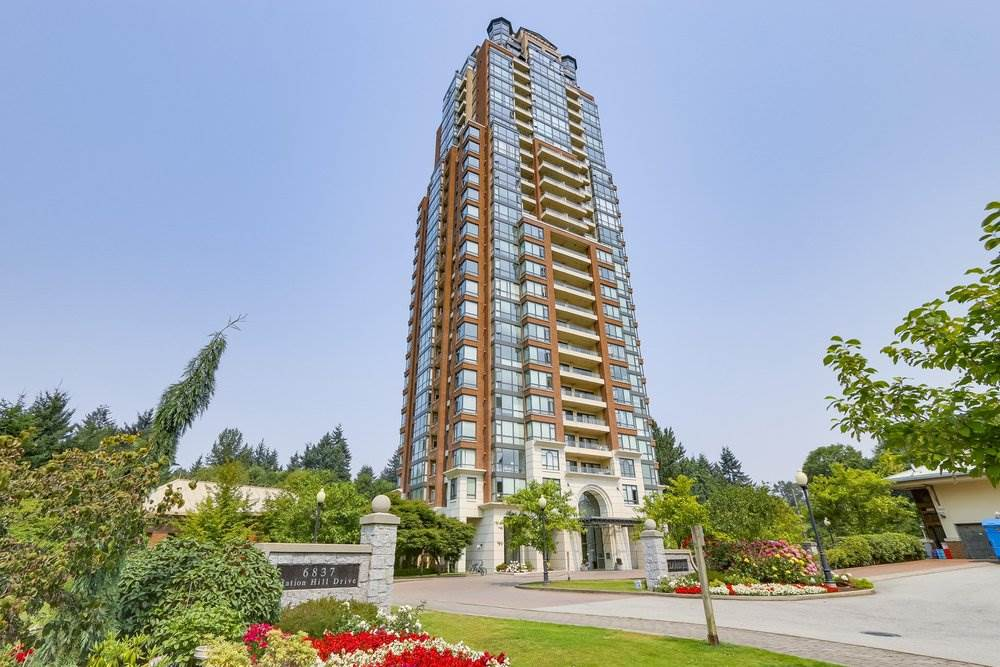 Hidden Jewel! Beautiful suite in well managed and maintained building in City-In-The-Park. On the quiet side of building facing NW corner overlooking gorgeous North Shore Mountains, Metrotown, peaceful forest view and some river view. Spacious home of 889 sqft with 2 bedroom & 2 bath suite has functional floor plan & a separate tug away kitchen with eating area & a large window. Bonus - 2 parking stall & 1 locker, gas fireplace. Excellent clubhouse facilities w/indoor swimming pool, gym, guest room, pool table, lounge, library & theatre. Walking distance to Skytrain, bus stop, trails, Taylor Park Elementary, daycare, parks & next to a neighbourhood market. Proud to show!