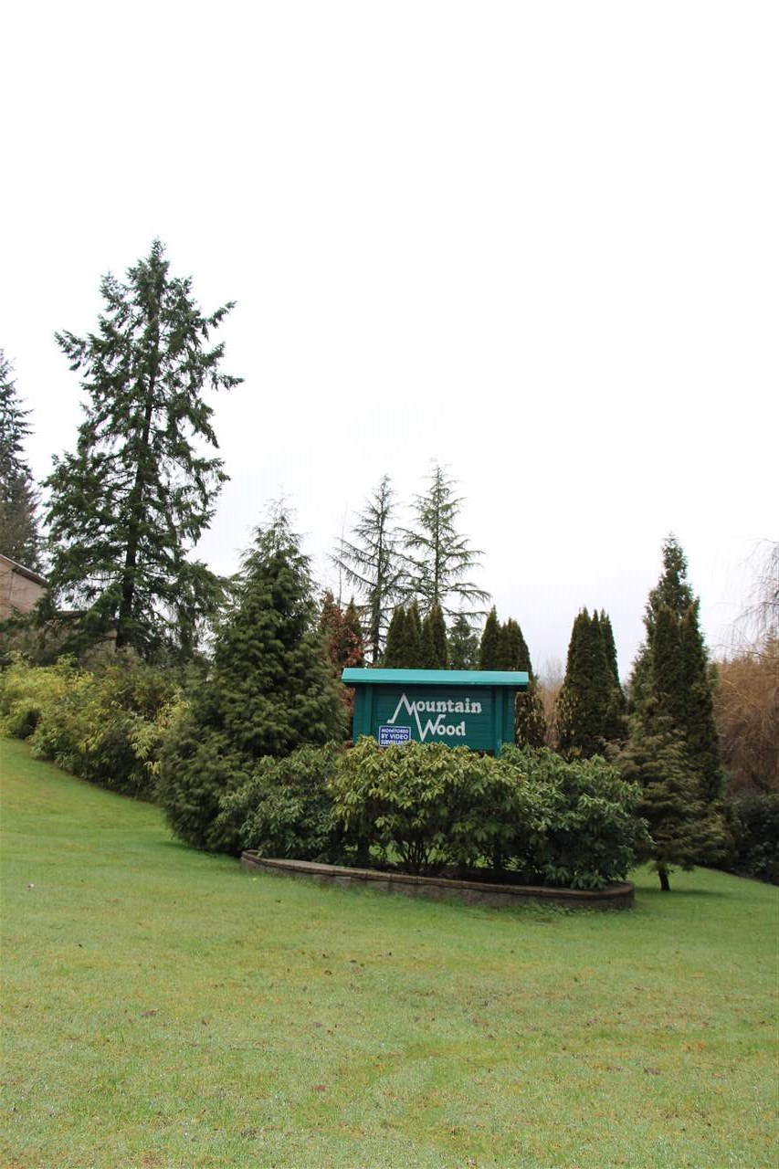 Perfect for FIRST TIME BUYERS and INVESTORS! This well kept 2 bedroom end unit has plenty of windows 2 balconies and a great view! This complex has a pool, hot tub, gym, sauna, all nestled in a park like setting just 10 min from SFU. This home has 2 large bedrooms, a good sized laundry room with storage area, 2 huge balconies and a nicely laid out kitchen with a large window. Open House Feb 17 & 18th 1pm - 3pm.