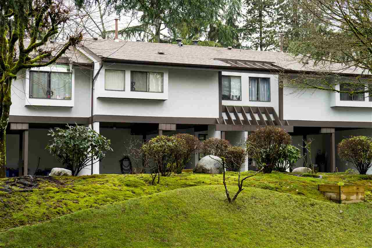 Rarely available 2 level 4 bedroom, 2 1/2 bathrooms townhouse in New Horizons. Bright open spacious floor plan, private balcony and patio, wood burning fireplace, family sized kitchen. Double carport, close to amenities: LaFarge Lake and Coquitlam river, a close walk, mountain hiking just up the hill. Town Center sports facilities, open stage by lake for concerts, fireworks etc., Coquitlam Aquatic Center, Mall, and more! OPEN HOUSE SATURDAY & SUNDAY MARCH 17 & 18, 2PM TO 4 PM.