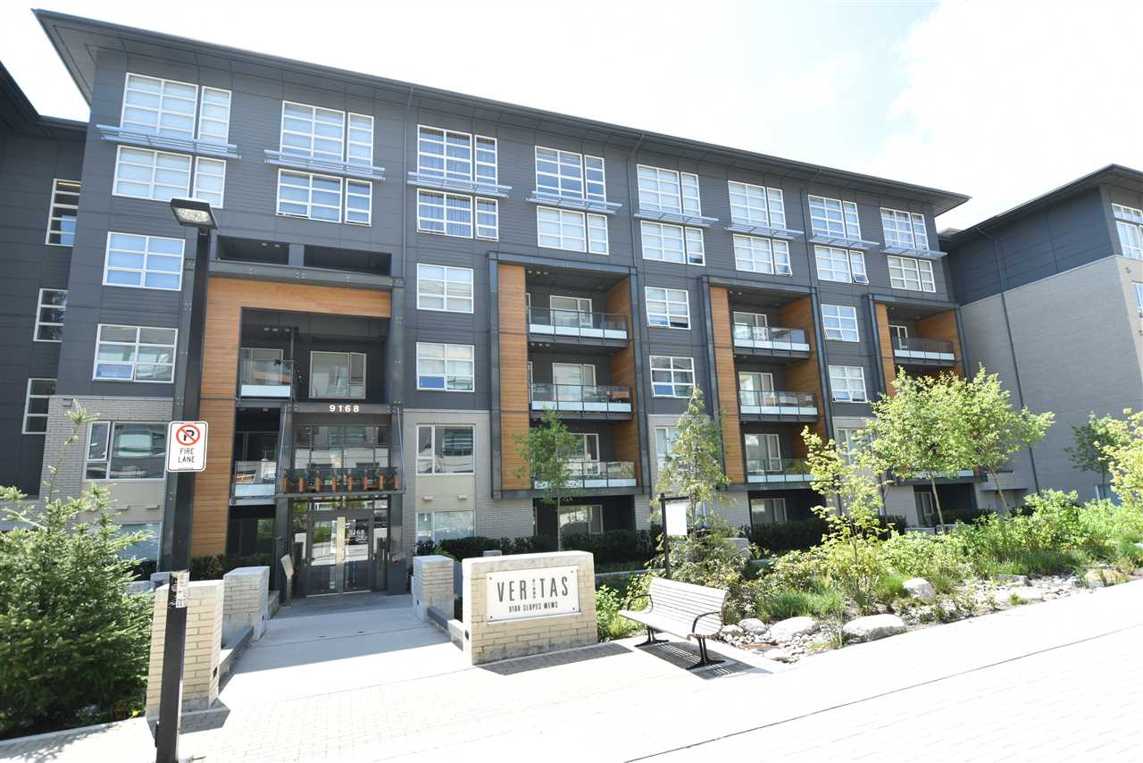 Why pay dorm fees when you can own. Near new 2 bedroom condo in Veritas by Polygon located right in the heart of SFU. Located on the 4th floor this unit has great vantage point to enjoy sunset views. Fitness room and outdoor gardening plots for owners. The location is fantastic, right across from Nesters food Market and cafe and steps to all the restaurants, amenities, liquor store, and cafe's SFU has to offer. Ten minute drive to Lougheed town center, Burnaby lake, Deer lake park and Burnaby mountain golf course. There is also a bus stop one block away that goes direct to downtown Vancouver with no transfers required. If you are trying to get into the market, look no further. This complex has everything to offer at a fraction of the price of Vancouver.